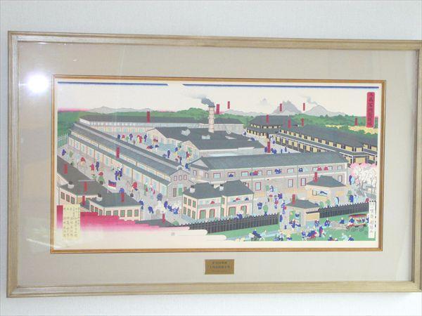 歌川国輝 上州富岡製糸場